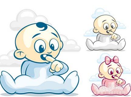 而且,不仅如此,宝宝沉迷于吃手指对他的心智发育也是一种伤害.图片