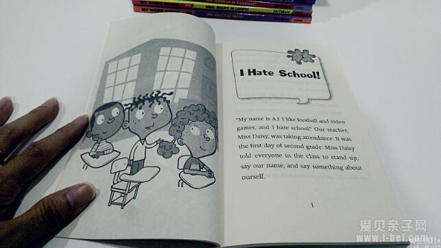 我讨厌小学生_初级章节书:疯狂学校 My Weird School 21册团购_爱贝亲子网 - 入学 ...