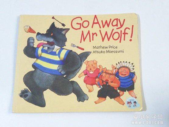 廖彩杏书单《Go Away Mr wolf》双语阅读