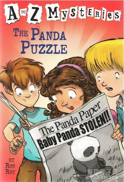 原版英文章节书:A to Z Mysteries 神秘案件全套26册