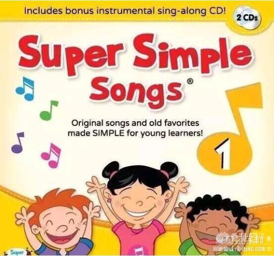 美国经典儿歌童谣《Super Simple Songs》最新动画视频分享